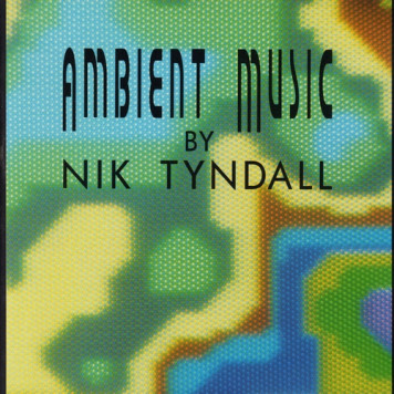 Nik Tyndall | Ambient Music